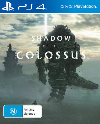 Shadow of the Colossus PlayStation 4 Game NEW
