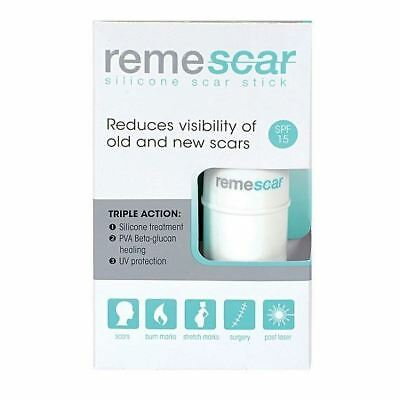 Remescar Stick SPF15 Reduces Visibility of Old & New Scars 5.4g 1 2 3 6 12 Packs