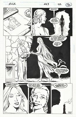 Hulk #423 Page 22, Gary Frank and Fred Fredericks