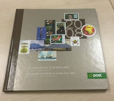 The Irish Stamp Year Book 2008 Complete Collection RARE