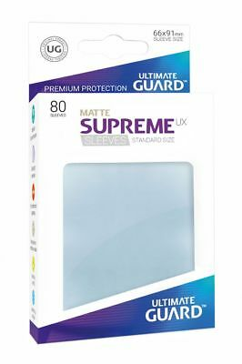 Ultimate Guard - Supreme UX Sleeves Standard Matte Transparent 80 Stück Hüllen