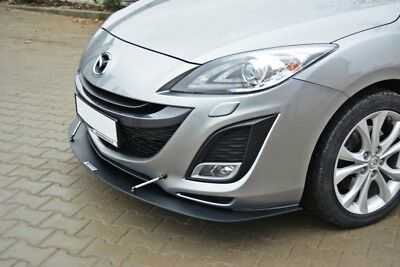 front splitter mazda 3 mps mk1 2006 2008. Black Bedroom Furniture Sets. Home Design Ideas