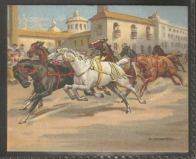 Carreras-Races Historic & Modern (L25)-#14- Riderless Horse Races In Italy