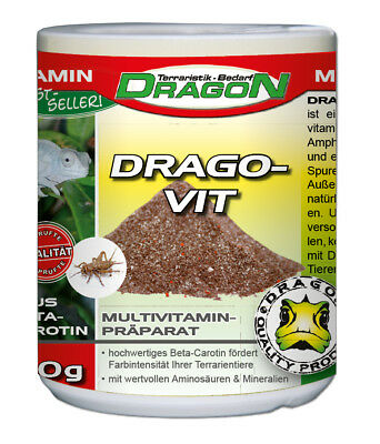 Dragon Drago Vit Multivitamin + Beta Carotin, 30g / RS-15 (P)