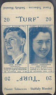 Carreras-Uncut Double Turf Slide-Olympics-#34#44- John Winter - Sylvia Cheeseman