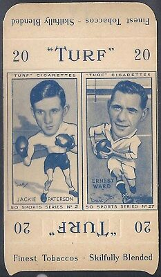 Carreras-Uncut Double Turf Slide-Sports Series-#02#27- Boxing - Rugby