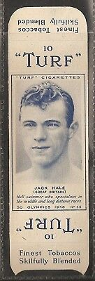 Carreras-Uncut Single Turf Slide-Olympics-#35- Swimming - Jack Hale