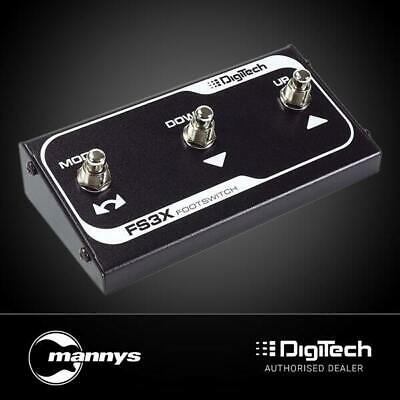 DigiTech FS3X 3-Button Footswitch Pedal