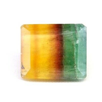 TOP FLUORITE : 21,88 Ct Natürlicher Multi Color Fluorit Argentinien