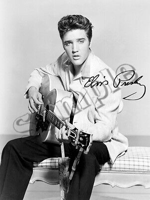 Elvis Presley autographed signed REPRINT photo RP