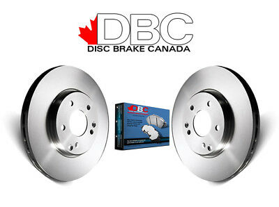 DBC BR33112 G3000 Brake Rotors and Semi-Metallic Brake Pads