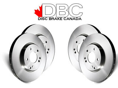 DBC BR33006-DK G3000 Brake Rotors -  Front and Rear Rotors Only !