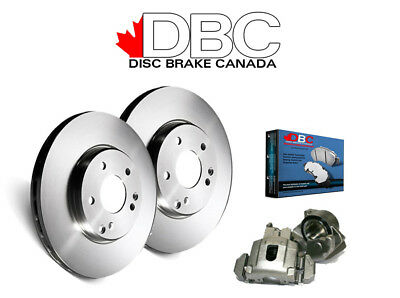 DBC BR33112-K-CAL G3000 1 Click Brake Rotors and Semi-Metallic Brake Pads - Fron