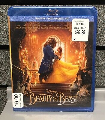 Beauty And The Beast | New | BluRay/DVD/Digital | Ships Fast
