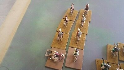 15mm Ancient Saracen Army, painted, plastic and metal, 82 models