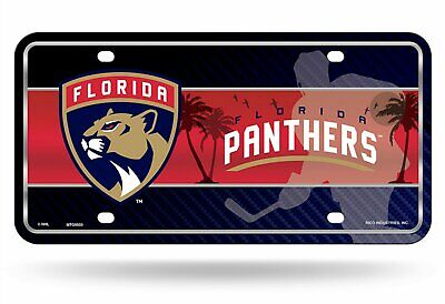 competitive price 122c3 6dbe9 Fan Shop License Plate Frames Florida Panthers LBL New ...