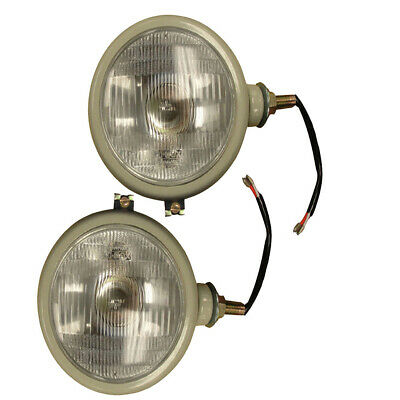 310066F - Left & Right Volt Headlights Lamp Set For Ford 2N 8N 9N 800 600 NAA