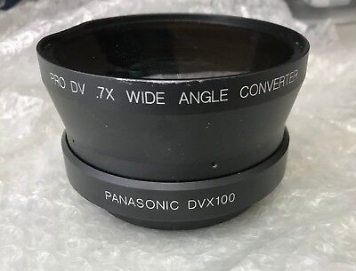 Century Precision Optics .7x wide angle converter lens for Panasonic AG-DVX100