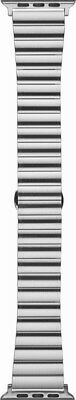 Platinum -Link Band Stainless Steel Watch Strap for Apple Watch42mm -Silver 1