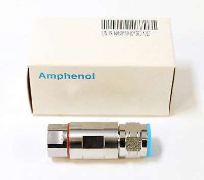 "Amphenol N Male Coaxial Connector for 1/2"" Superflexible Cable"