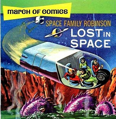 SPACE FAMILY ROBINSON - LOST IN SPACE -  Vintage US Sci Fi Comics on DVD