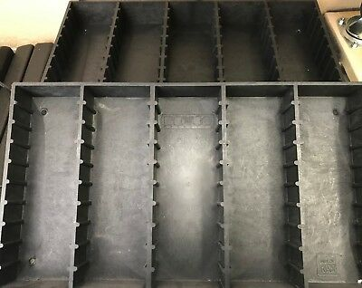 Bryco Mini DV video tape Rack Storage 50 Panasonic HD HDV miniDV pro tapes