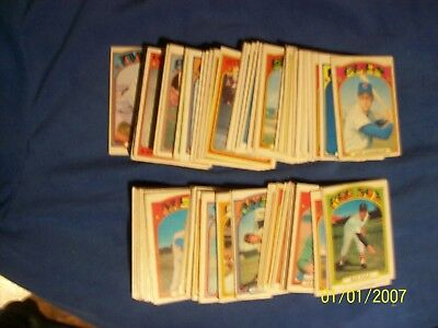 1972 OPC  O-Pee-Chee baseball   lot of 140 different