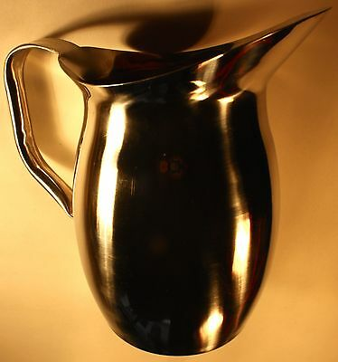 World Tableware Belle S/S 70 oz Pitcher w/o Ice Guard