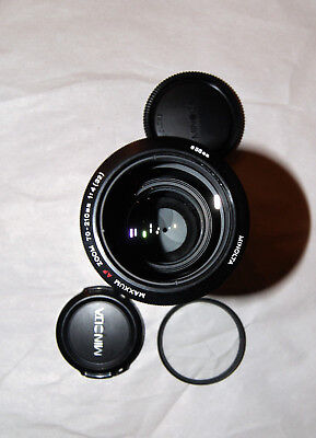 "Minolta MAXXUM AF70-210mm F4 Autofocus ""Beer Can""  Sony A Mount Telephoto Zoom"