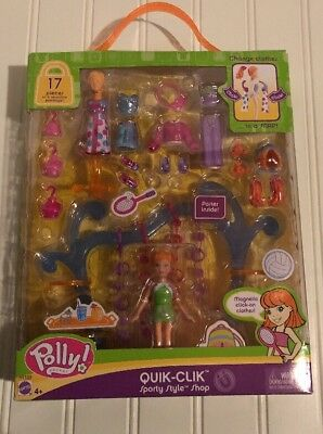 Vintage 2004 Polly Pocket Quick -click Sporty Style Shop