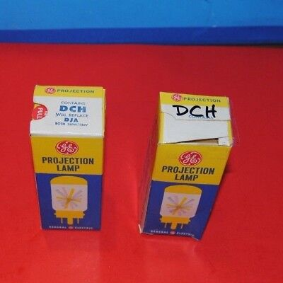 General Electric DCH DJA DFP  Photo Projection Lamp Bulb Projector NOS