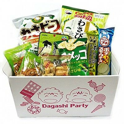 Assorted Japanese Wasabi Flavor Junk Food Snacks From Japan