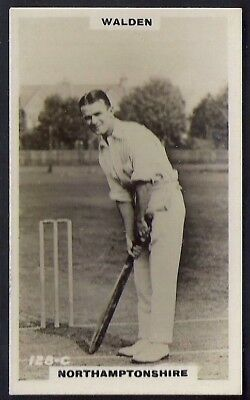 PHILLIPS-CRICKET ERS BROWN BACK F192-#128c- NORTHAMPTONSHIRE - WALDEN