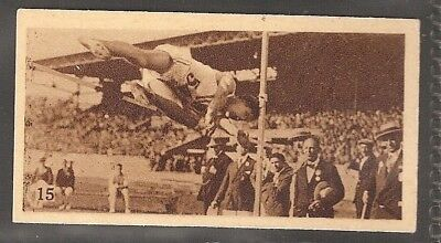 Phillips-Olympic Champions Amsterdam 1928-#15- High Jump - King