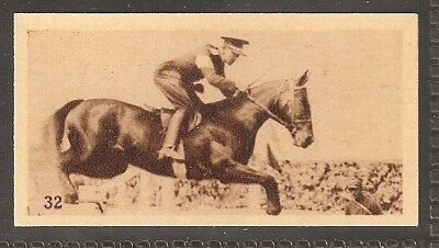 Phillips-Olympic Champions Amsterdam 1928-#32- Horse Racing - Capt J Charvies