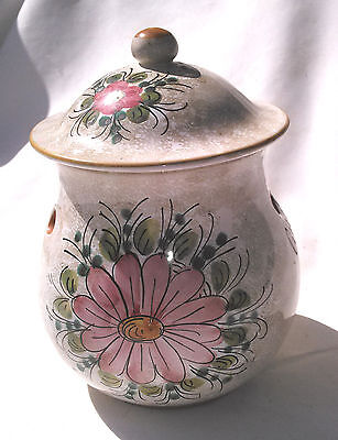 Dip A Mano Rita Potpourri Jar with Lid Hand Painted Made in Italy