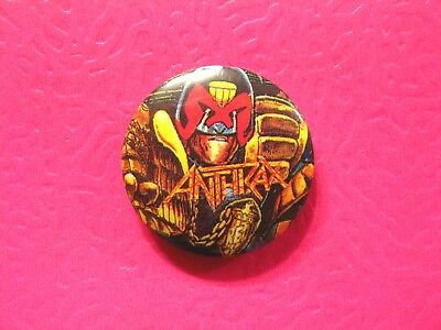 Anthrax New Button Pin Badge Not Shirt Cd Lp Poster Patch Uk Made