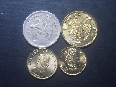3534 - Chile - Four Coins