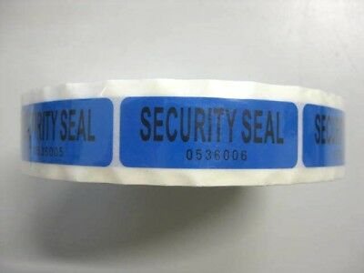 VOID OPEN 1000 Tamper Proof Security Seal Labels 5.5x2 cm Stickers - 1 Roll NEW