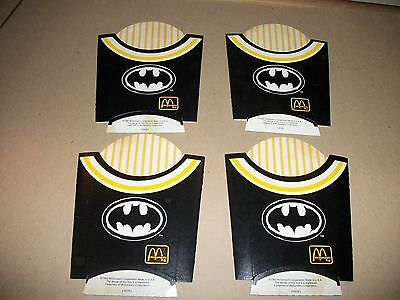 Batman Returns Mcdonalds fries cups