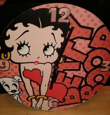 2006 King Feature Syndicate Betty Boop Clock Vintage