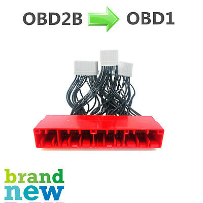 OBD2B TO OBD1 Jumper Conversion Wire Harness Honda Civic 99 ... on obd2 wire harness, ford wire harness, automobile wire harness, obd2b wire harness, bosch wire harness, engine wire harness, crx wire harness, vtec wire harness, 2jz wire harness, honda wire harness,