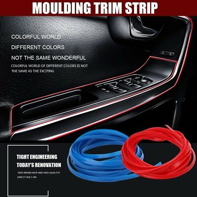 Universal 5 Meters Car Styling Interior Mouldings Decoration Strip Accessory FK