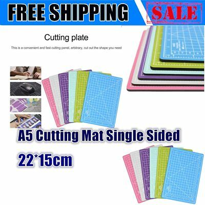 A5 Cutting Mat Single Sided 22*15cm A5 Cutting Plate For Paper Sculpture F7