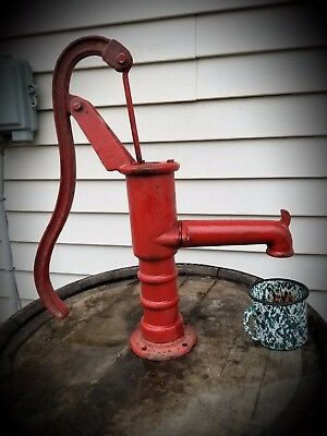 Vintage  Hand Well Water Pitcher Pump, Ready to Use!! Or display!