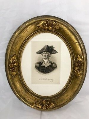 Gesso Wood Victorian Ornate French Rococo Gilt Frames Oval Gold Baroque Wall Art