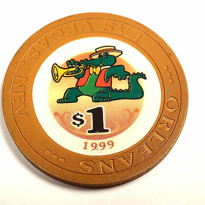 The Orleans Casino $1 Chip 1999 Las Vegas NV Nevada