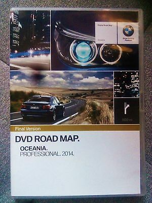 New Bmw Genuine Navigation Gps Latest Map Aust/nz Software Disc Cd Dvd Rrp $400!
