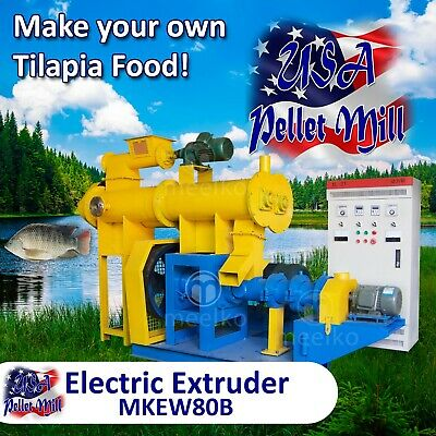 Electric Extruder for Tilapia Food - MKEW80B