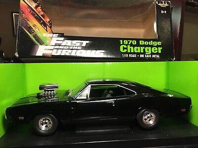 1970 Dodge Charger Fast And The Furious ERTL 1:18